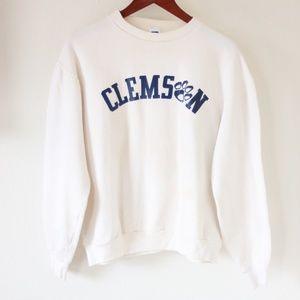 Vintage Clemson Russell Sweatshirt